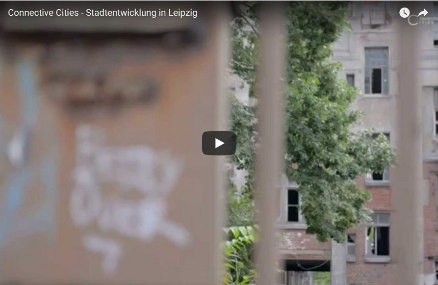 Screenshot aus Video Connective Cities Stadtentwicklung Leipzig