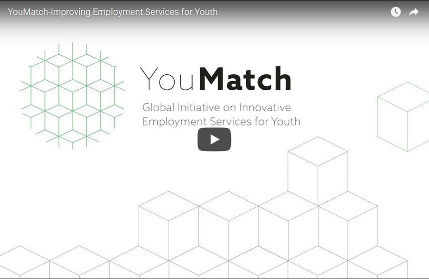 Screenshot Trailer YouMatch Improving Employment Services for Youth